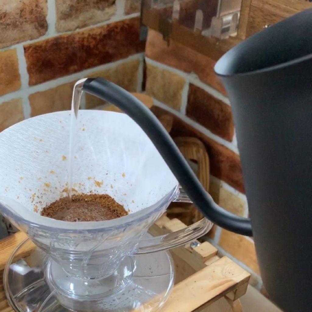 浅煎りコーヒーの淹れ方