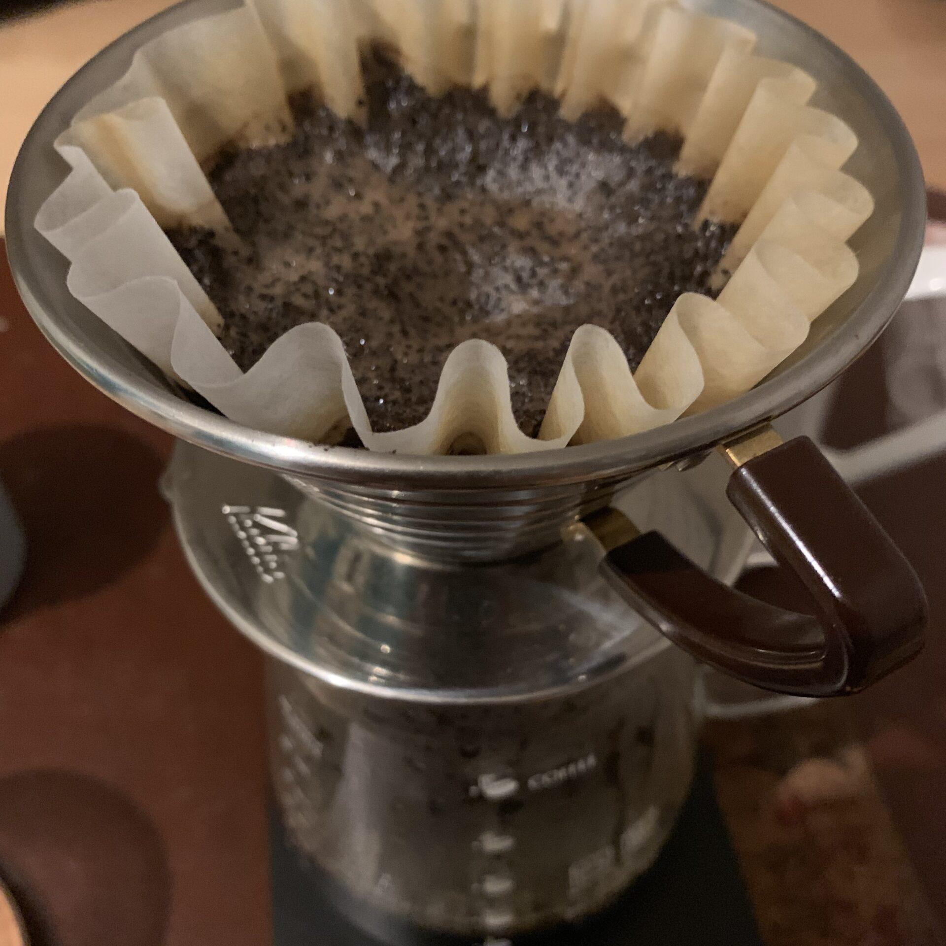 コーヒー ハンドドリップ ウェーブ